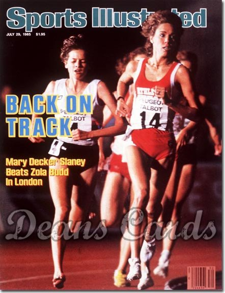 1985 Sports Illustrated - With Label   July 29  -  Mary Decker/Zola Budd