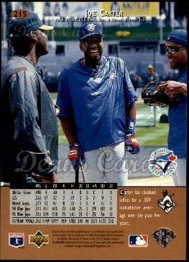 1996 Upper Deck #215  Joe Carter