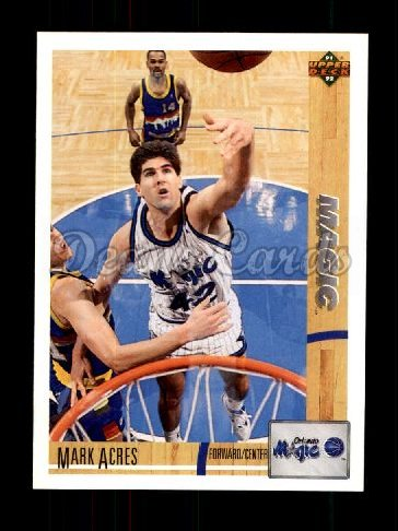 1991 Upper Deck #201  Mark Acres