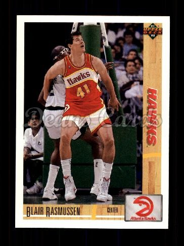 1991 Upper Deck #498  Blair Rasmussen