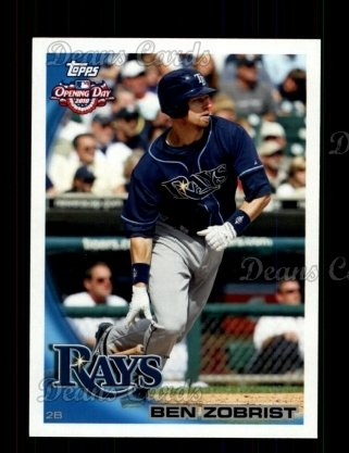 2010 Topps Opening Day #121  Ben Zobrist