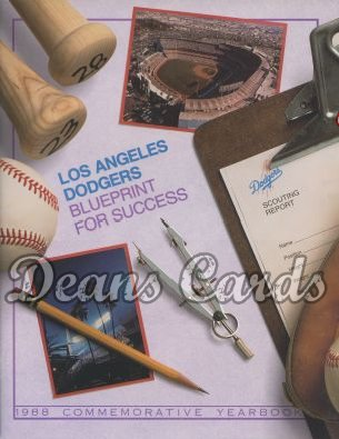 1988 Los Angeles Yearbook - Blueprint for Success