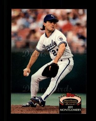 1992 Topps Stadium Club #12  Jeff Montgomery