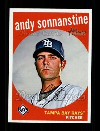 2008 Topps Heritage #644  Andy Sonnanstine