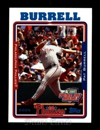 2005 Topps Opening Day #145  Pat Burrell