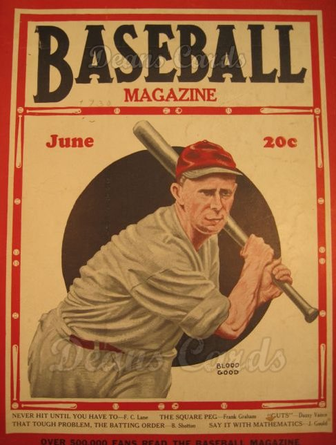 1930 Baseball Magazine    June