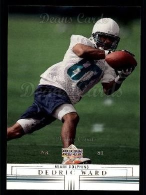 2001 Upper Deck #115  Dedric Ward