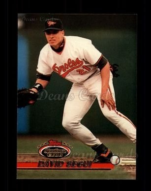 1993 Topps Stadium Club #479  David Segui