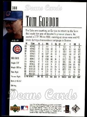 2001 Upper Deck #388  Tom Gordon