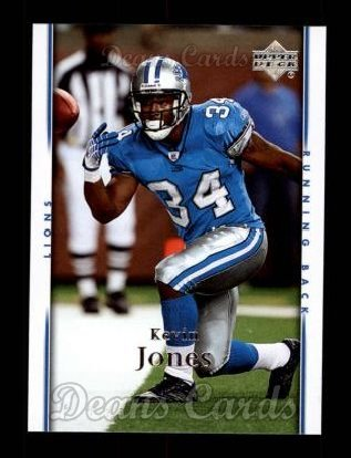 2007 Upper Deck #64  Kevin Jones