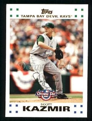 2007 Topps Opening Day #93  Scott Kazmir