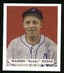 1949 Bowman REPRINT #138  Buddy Rosar