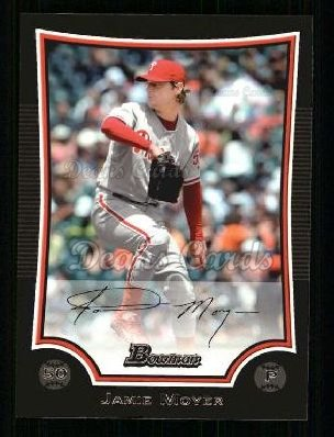 2009 Bowman #103  Jamie Moyer