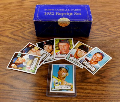 1952 Topps Reprints    Topps Baseball Reprint Complete Set
