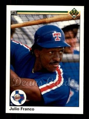 1990 Upper Deck #103  Julio Franco
