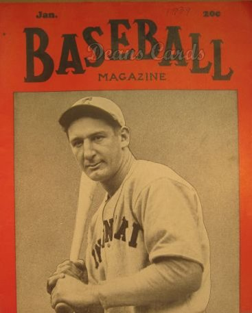 1939 Baseball Magazine    January