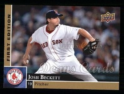 2009 Upper Deck First Edition #39  Josh Beckett