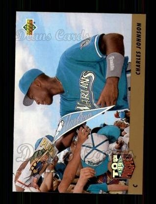 1993 Upper Deck #435  Charles Johnson