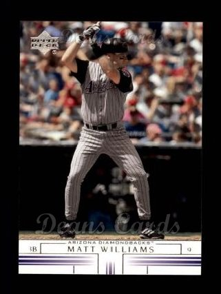 2002 Upper Deck #663  Matt Williams