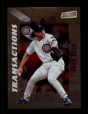 1998 Topps Stadium Club #374  Rod Beck