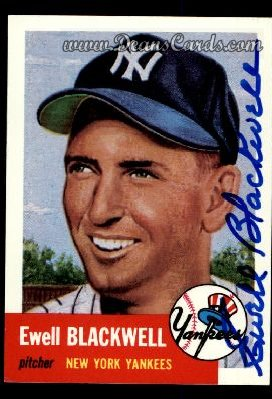 1991 Topps 1953 Archives #31  Ewell Blackwell