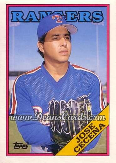 1988 Topps Traded #26 T Jose Cecena