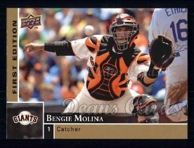 2009 Upper Deck First Edition #254  Bengie Molina