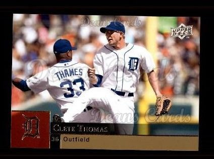 2009 Upper Deck #636  Clete Thomas