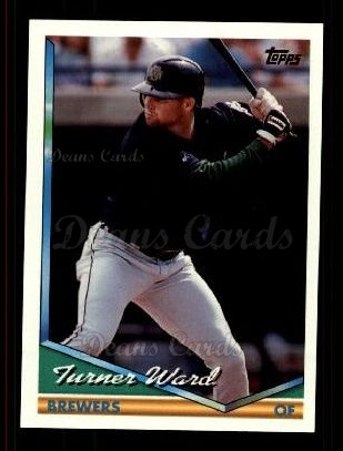 1994 Topps Traded #104 T Turner Ward