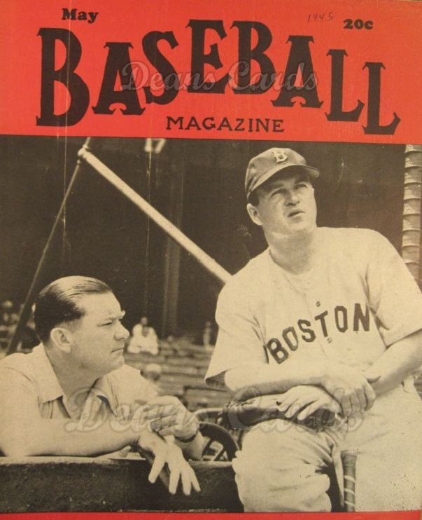 1945 Baseball Magazine    May