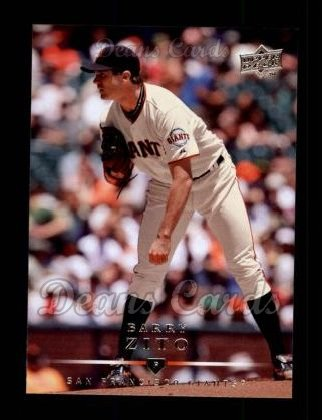2008 Upper Deck #112  Barry Zito
