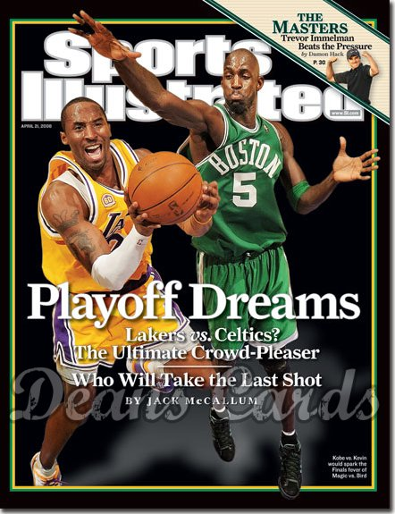 2008 Sports Illustrated   April 21  -  Kobe Bryant LA Lakers
