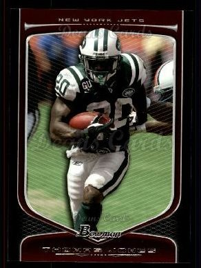 2009 Bowman Draft Platinum #45  Thomas Jones