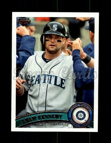 2011 Topps Update #28  Adam Kennedy