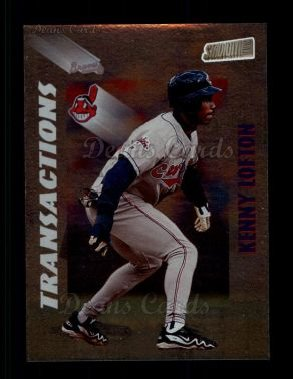 1998 Topps Stadium Club #364  Kenny Lofton