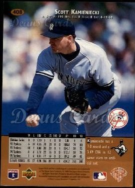 1996 Upper Deck #408  Scott Kamieniecki