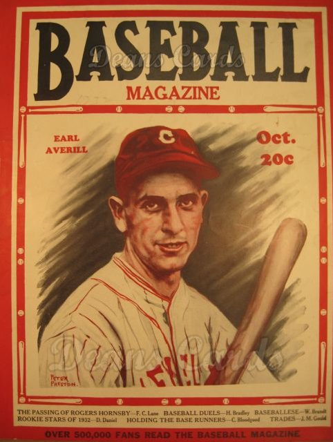 1932 Baseball Magazine    October