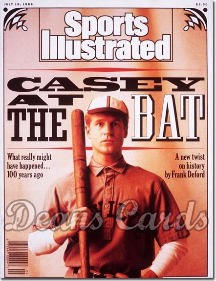 1988 Sports Illustrated - With Label   July 18  -  Caseyatthe Bat
