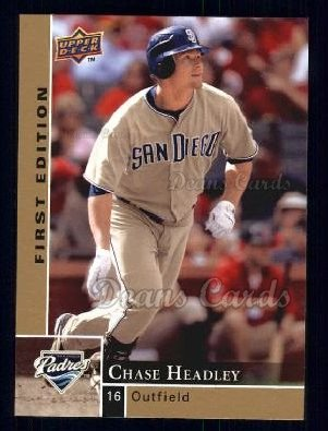 2009 Upper Deck First Edition #243  Chase Headley