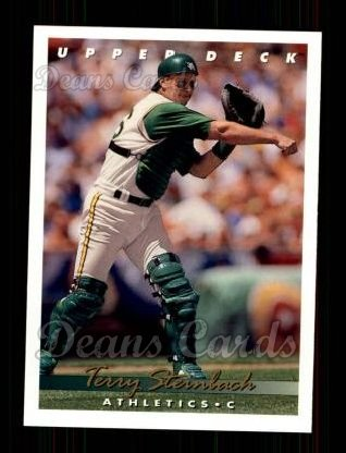 1993 Upper Deck #278  Terry Steinbach