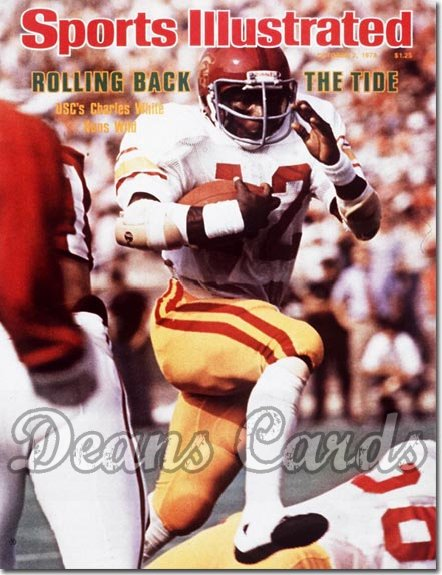 1978 Sports Illustrated - With Label   October 2  -  Charles White USC Trojans