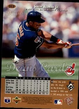 1996 Upper Deck #313  Sandy Alomar Jr.