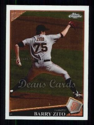 2009 Topps Chrome #112  Barry Zito