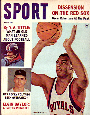 1964 Sport Magazine   -  Oscar Robertson  April