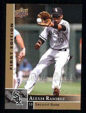 2009 Upper Deck First Edition #67  Alexei Ramirez