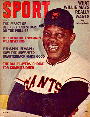 1965 Sport Magazine   -  Willie Mays  June