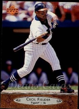 1996 Upper Deck #70  Cecil Fielder