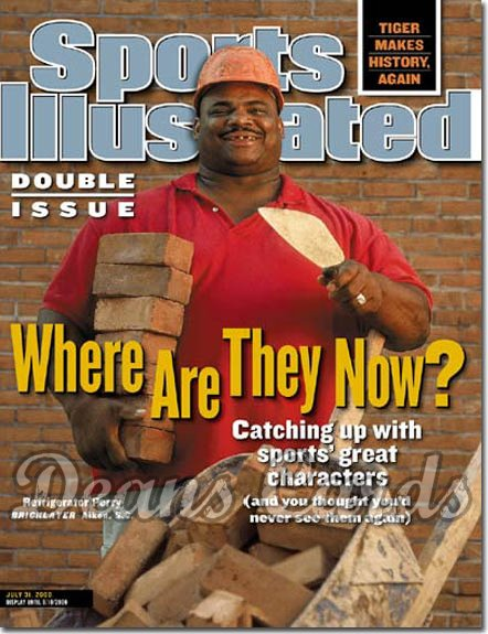 2000 Sports Illustrated - With Label   July 31  -  William Refrigerator Perry