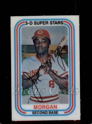 1976 Kelloggs #14  Joe Morgan