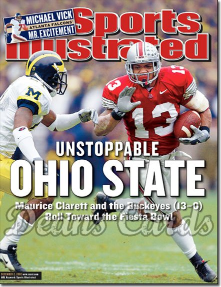 2002 Sports Illustrated   December 2  -  Maurice Clarett Ohio State Buckeyes